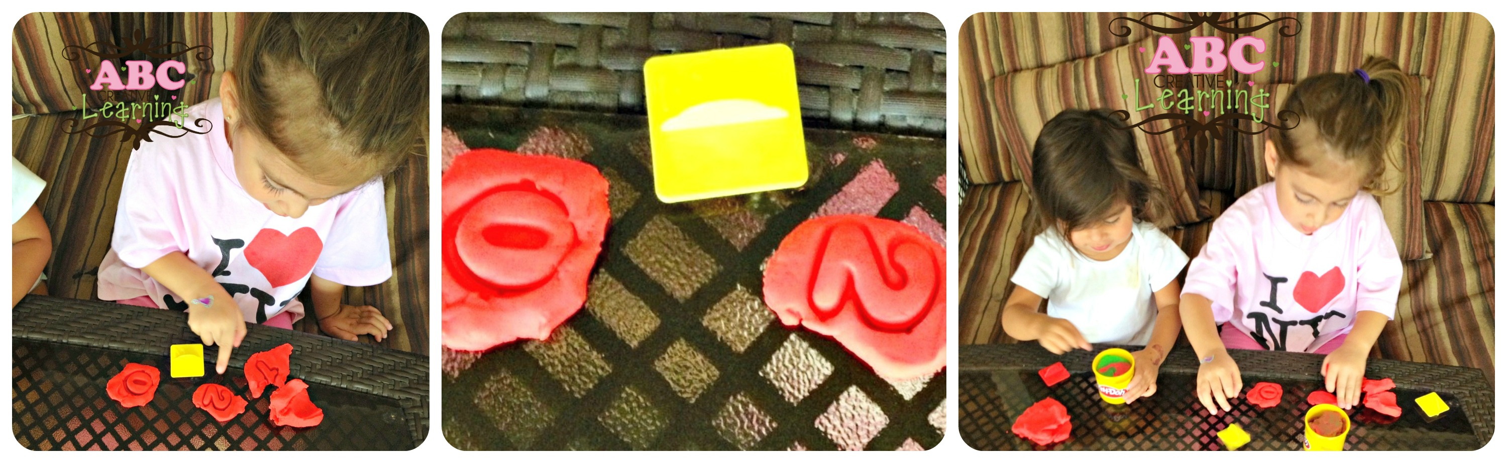 Counting and Numbers with Play doh