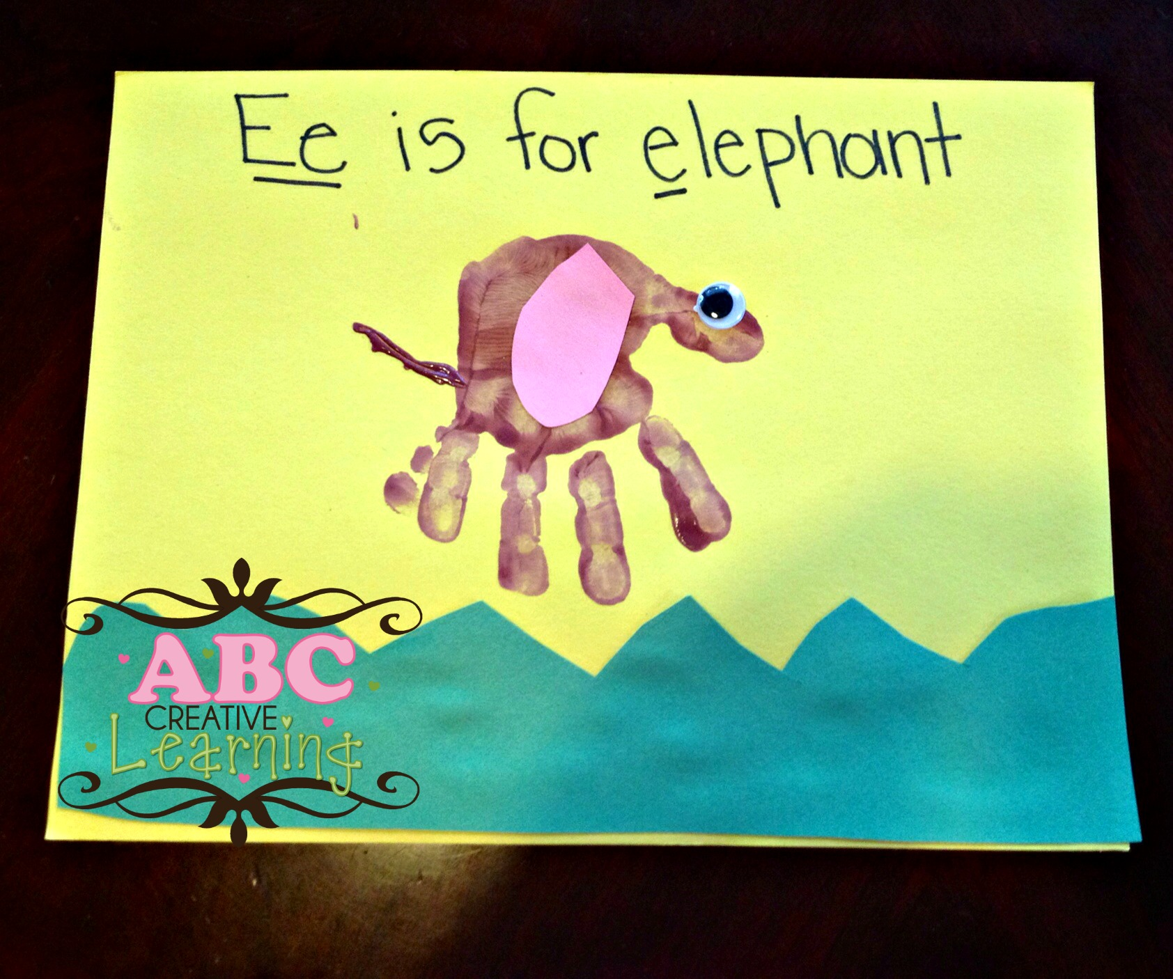 E is for Elephant Arts and Crafts
