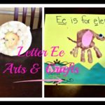 Letter Ee Arts & Crafts Ideas