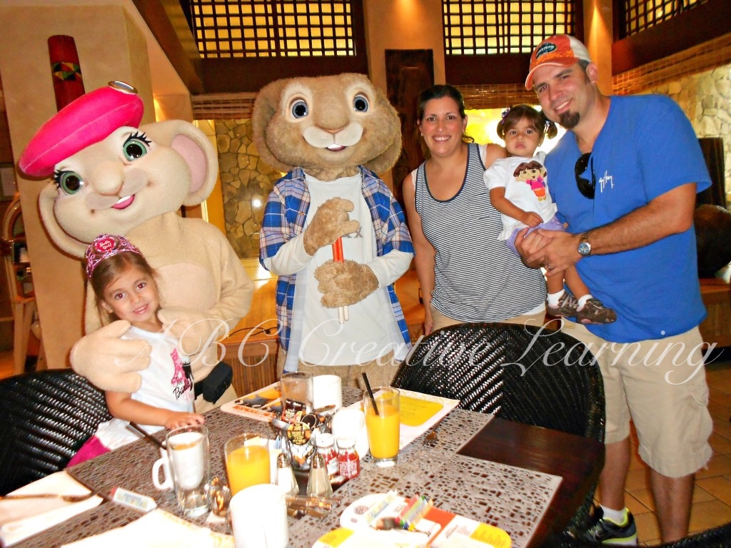 Character Breakfast at Universal Orlando with Hops - simplytodaylife.com