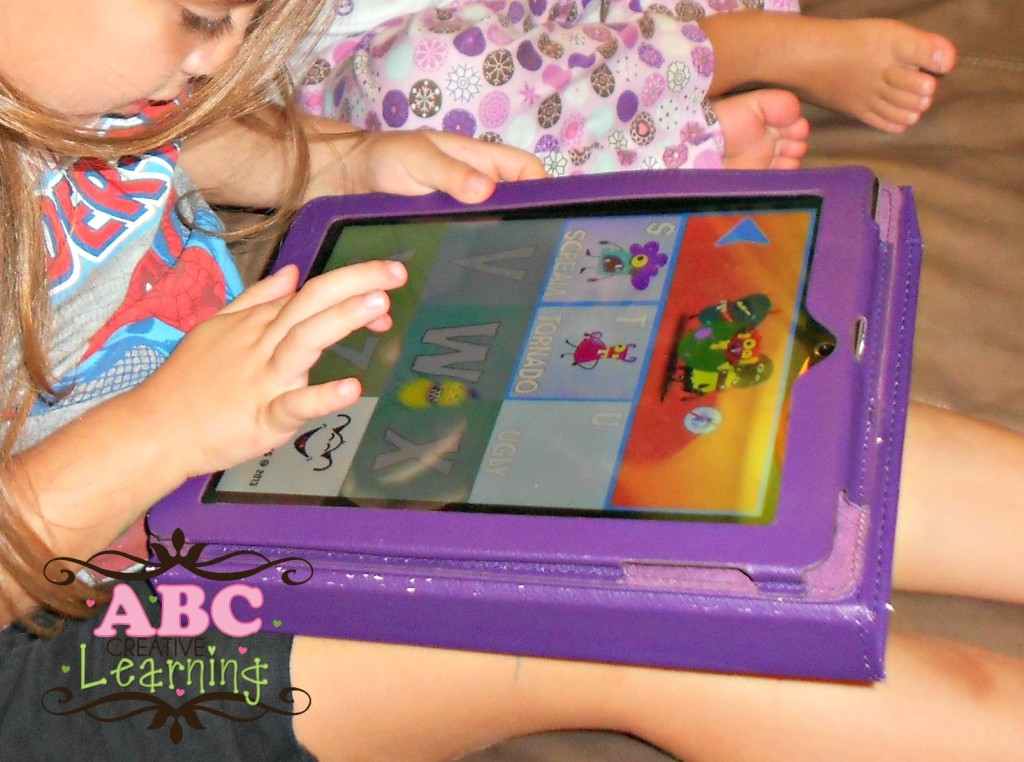 A to Z Monsters Learning App Game