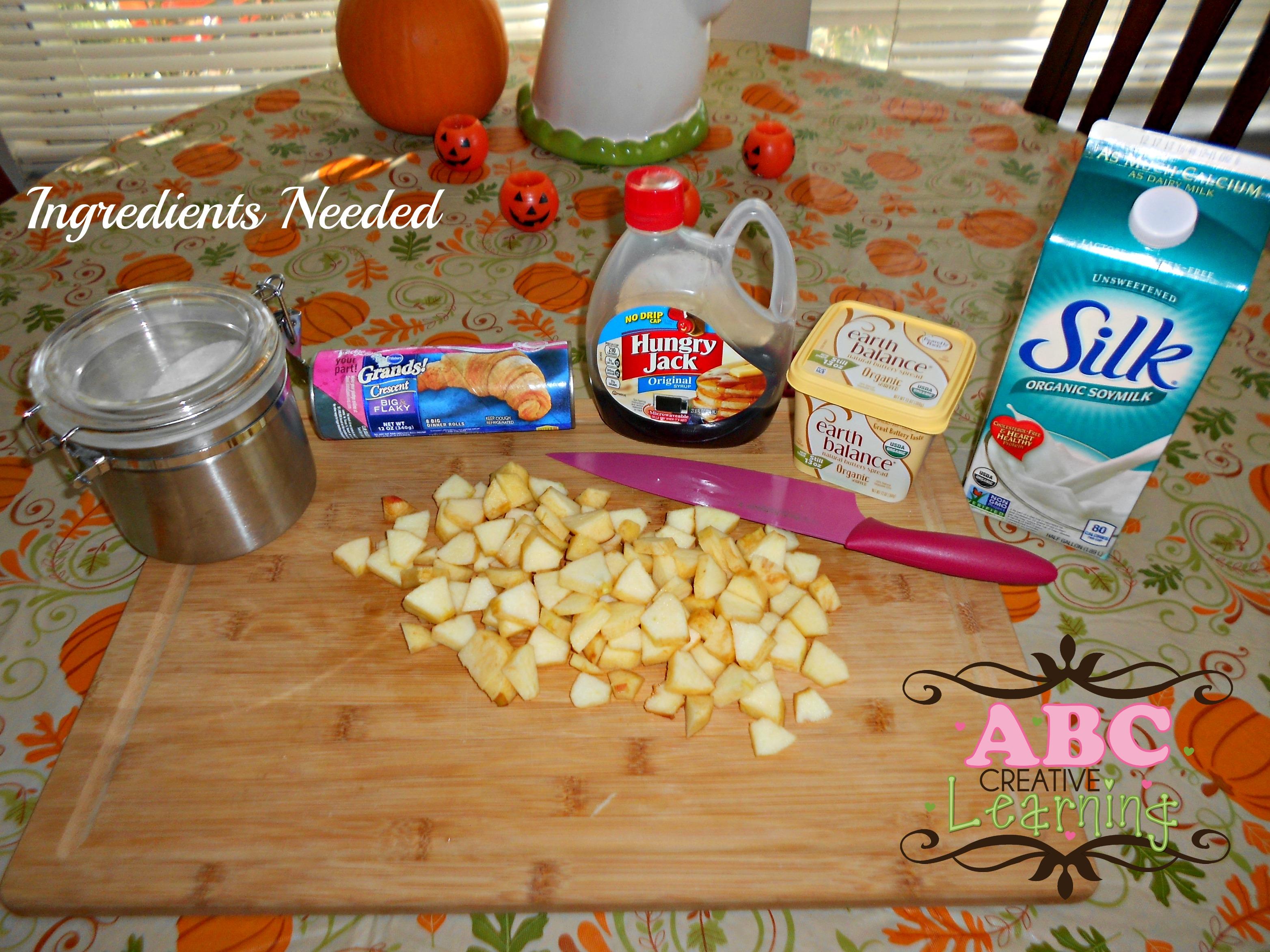 Apple Turnovers Ingredients