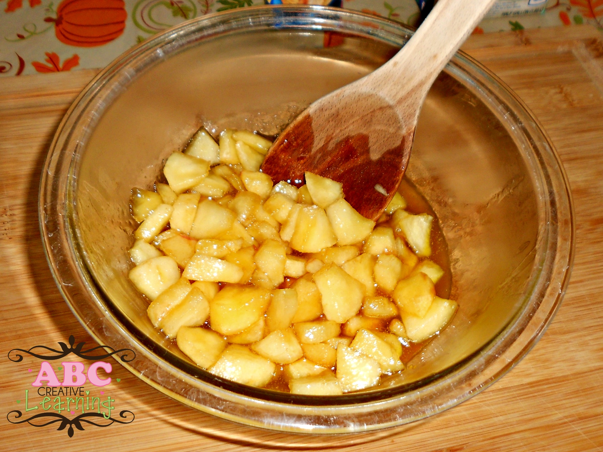 Cooling Apple Mix