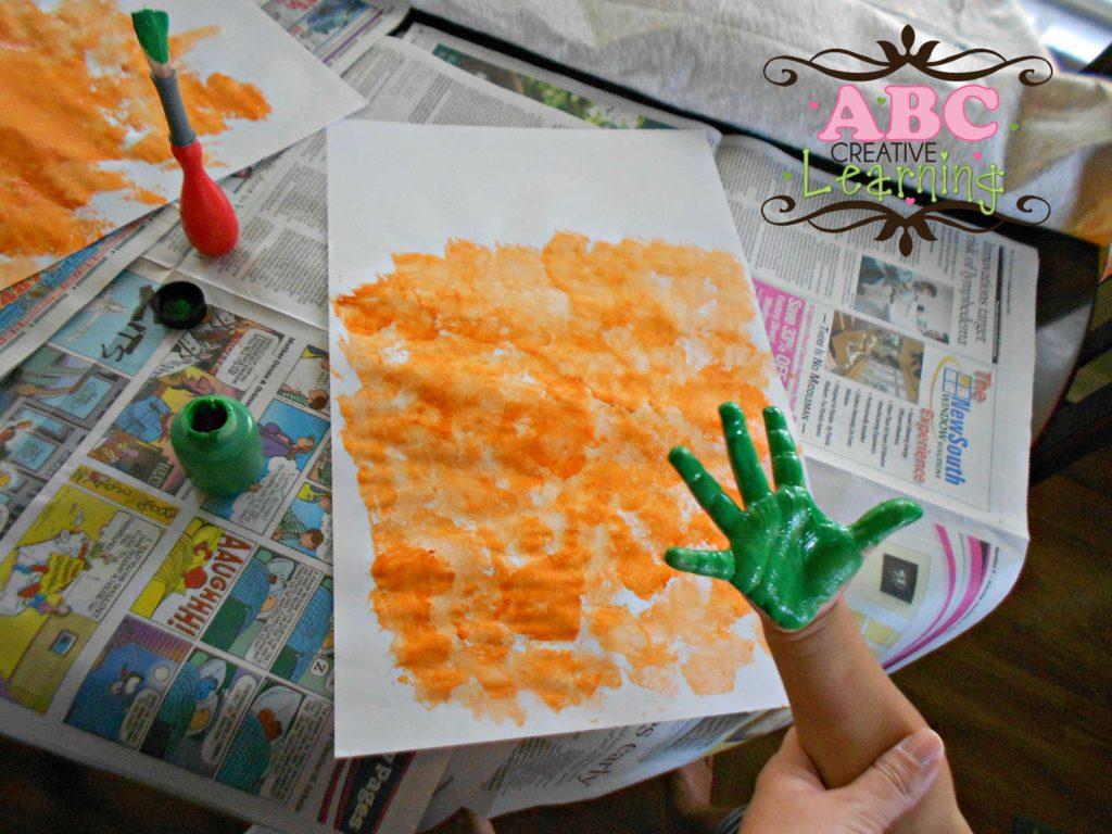 Handprint for Pumpkin