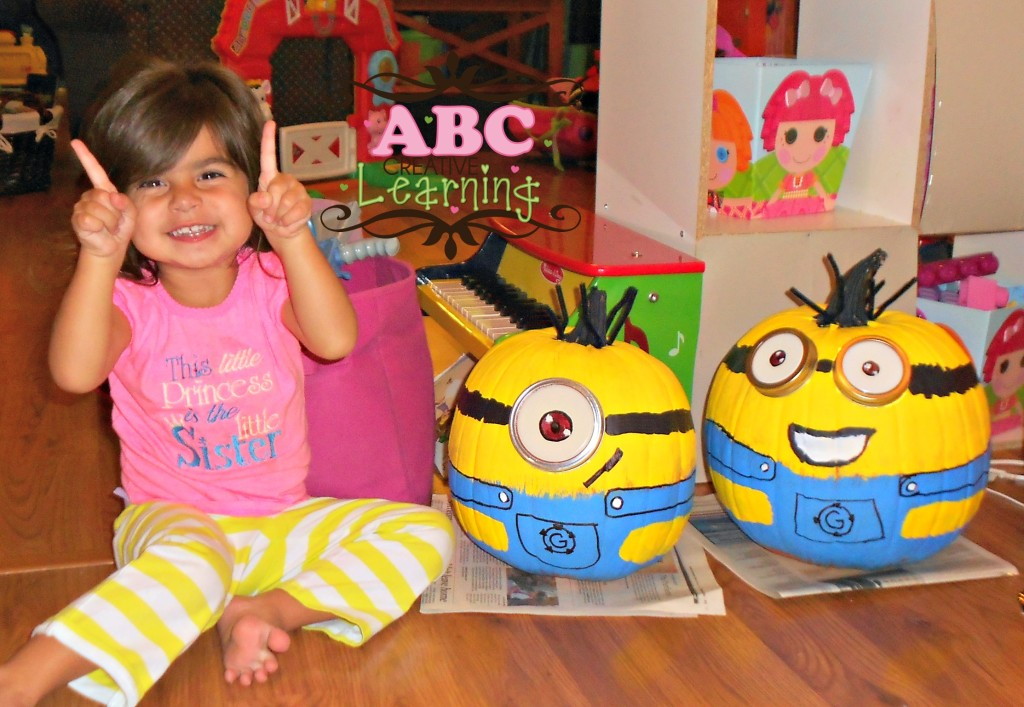 Minion Pumpkins for Halloween and Birthday Parties