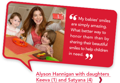 Alyson Hannigan Smile It Forward