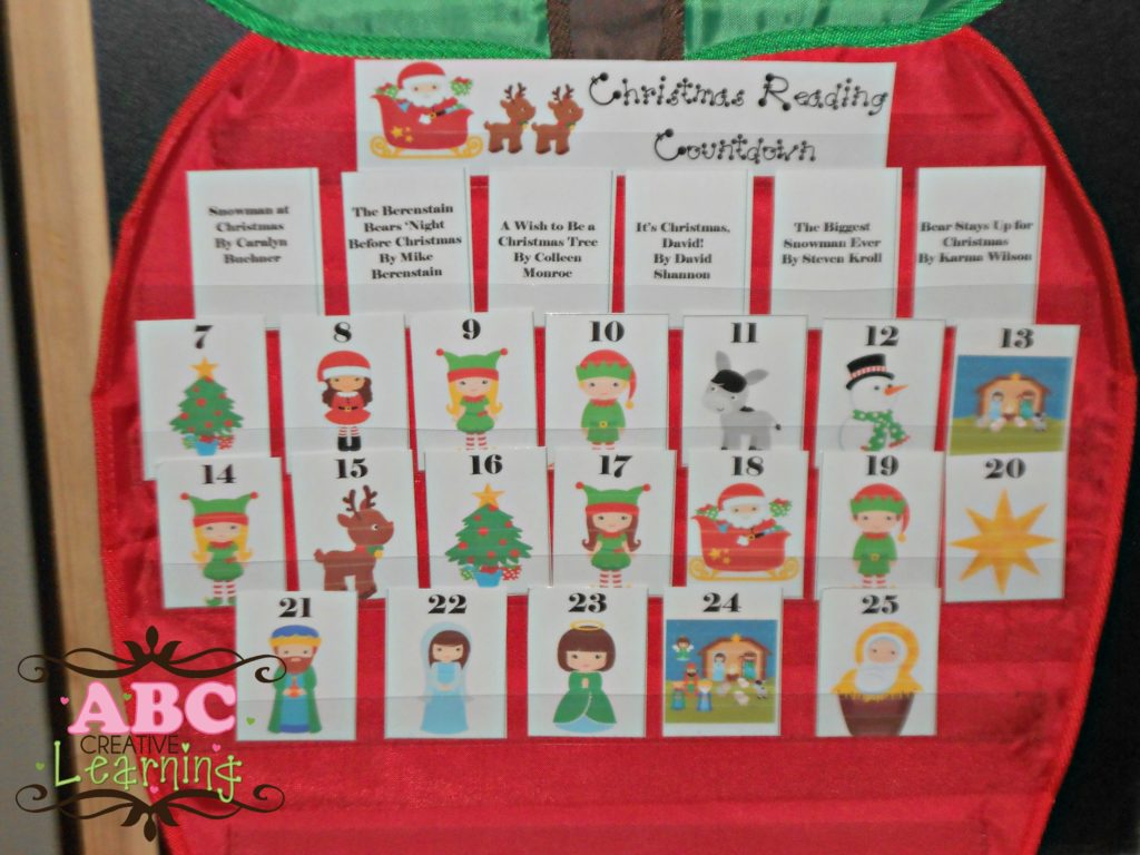 Christmas Reading Calendar Countdown