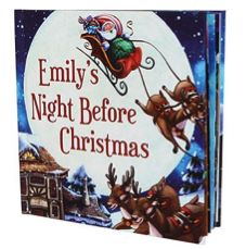 Personalized Night Before Christmas Childrens book