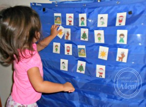 Toddler Pocket Chart Matching Game