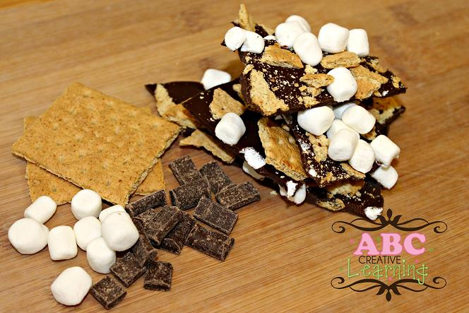 Christmas S'mores Bark