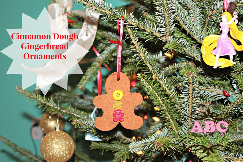 Cinnamon Dough Ornament Craft for Kids