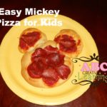 Easy Mickey Pizza