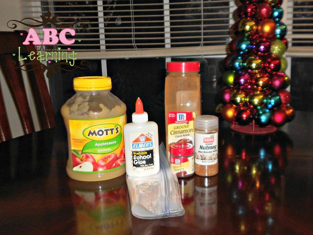 Gingerbread Dough Ingredients