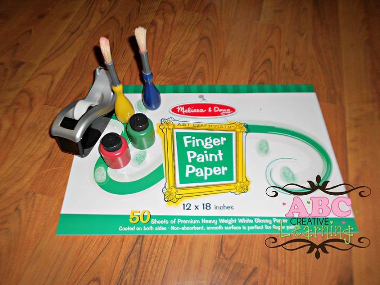 Handprint Wreath Supplies
