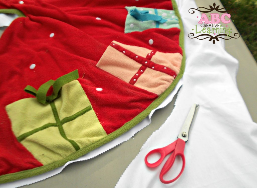 Tree Skirt Pattern for Ruffle Skirt