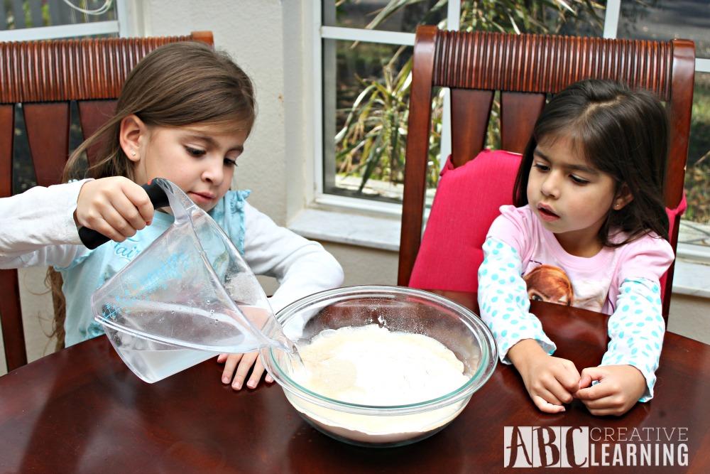 Alphabet & Numbers Pretzel Snack Recipe in the kitchen