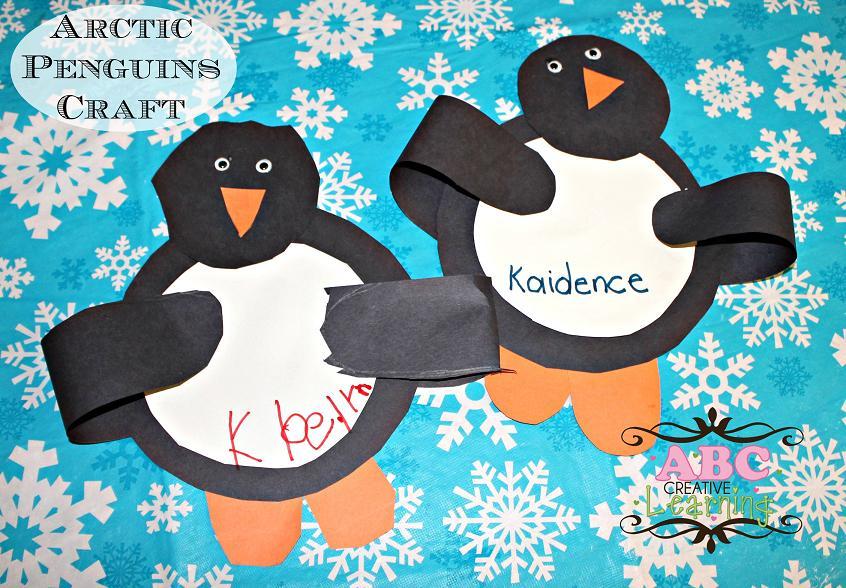 Arctic Penguins Craft