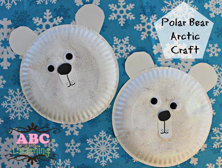 Kids Polar Bear Arctic Craft - simplytodaylifelcom & Easy Polar Bear Arctic Craft Paper Plate Perfect For Preschoolers