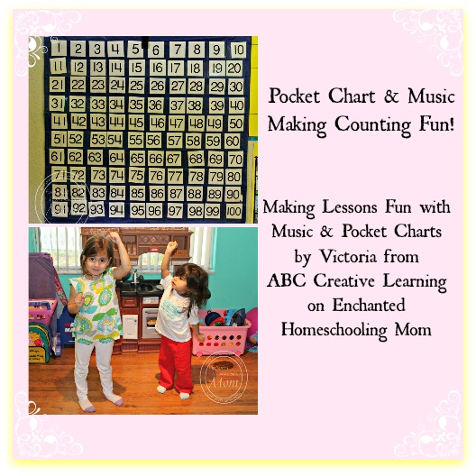 Pocket Chart & Music: Making Counting Fun! - Enchanted Homeschooling Mom
