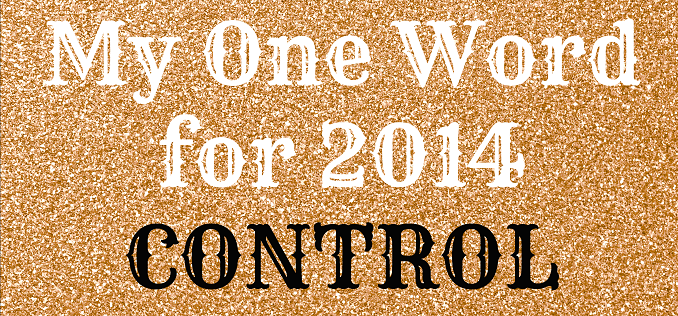 My One Word Control 2014