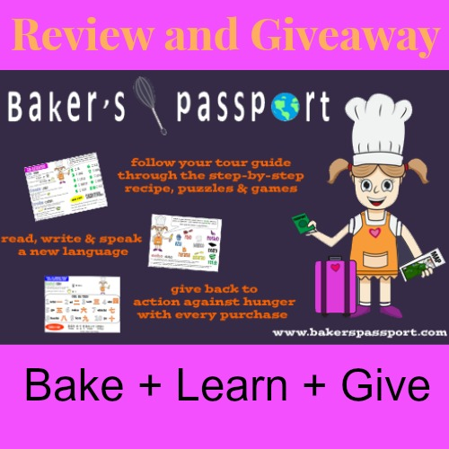 Baker's Passport Review and Giveaway 1
