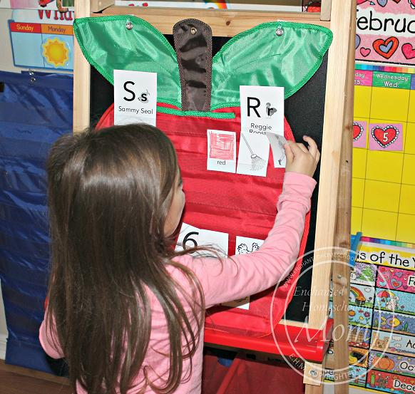 Beginning Sounds Pocket Chart Game