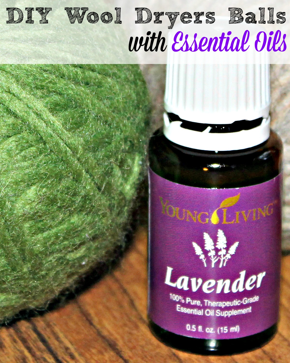 DIY Wool Dryer Balls With Essential Oils