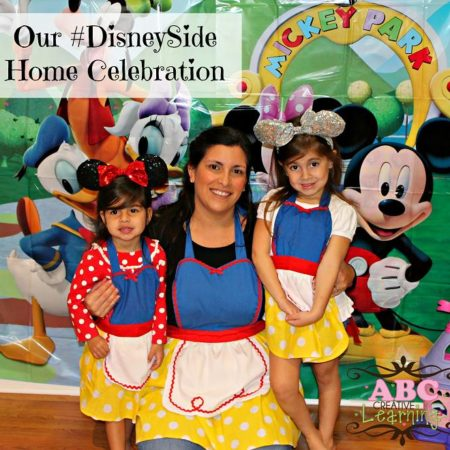 Showing our #DisneySide!