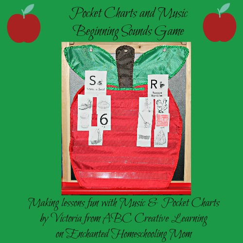 Pocket Charts and Music Beginning Sounds Game