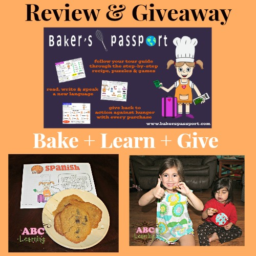 Review and Giveaway Bakers Passport little bites