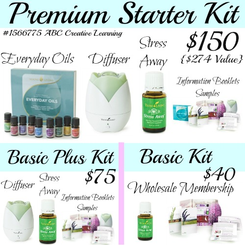 Young Living Starter Kits Samples