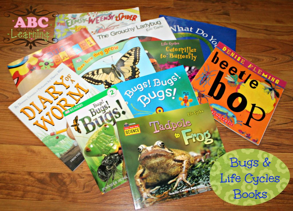 Bugs and Life Cycles Books