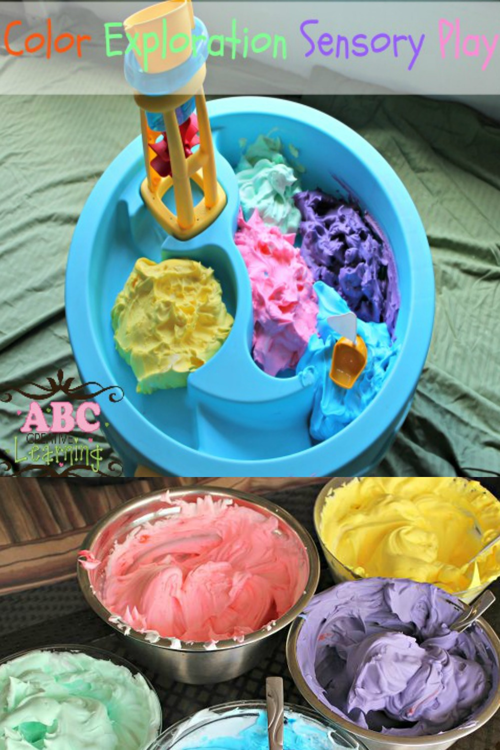 Color Exploration Sensory Play