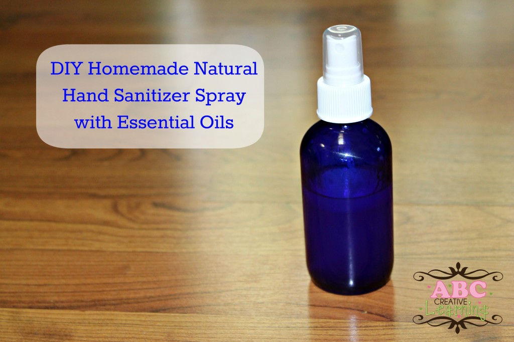 Homemade Hand Sanitizer Spray