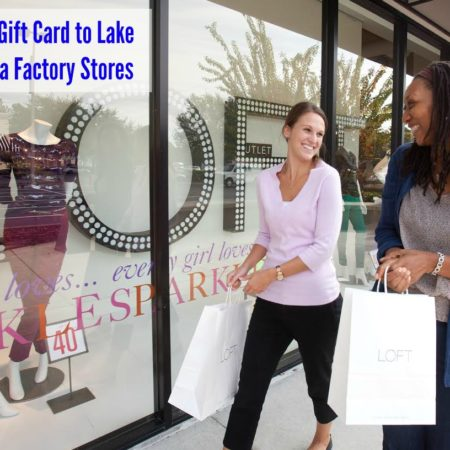Lake Buena Vista Factory Stores Gift Card #Giveaway