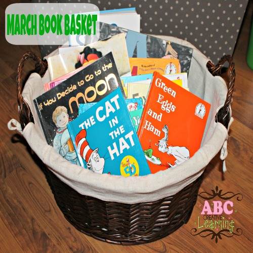 March Book Basket Ideas