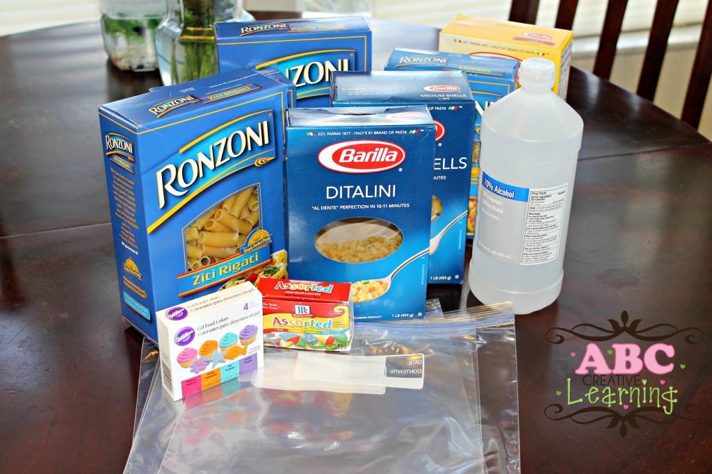 Materials for DIY Pasta