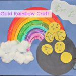 Pot 'O Gold Rainbow Craft