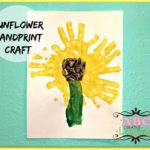 Sunflower Handprint Craft