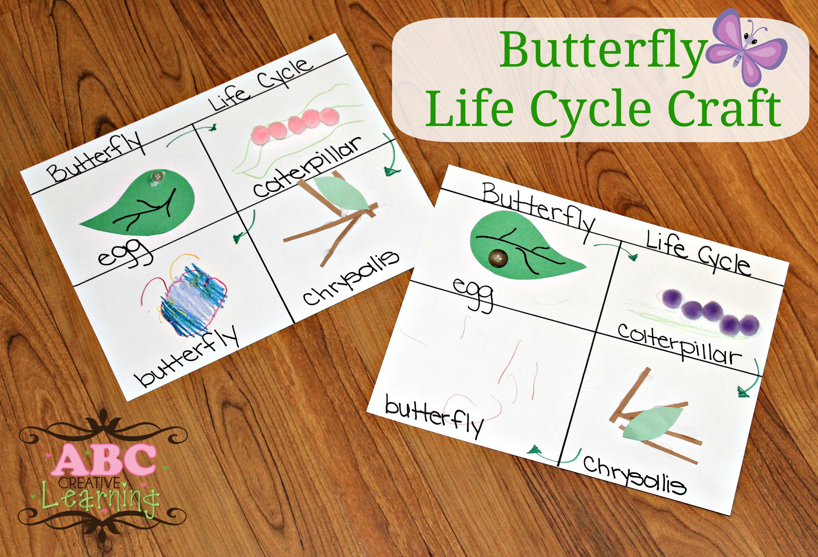 Butterfly Life Cycle Craft Homeschooling Lesson Simply Today Life