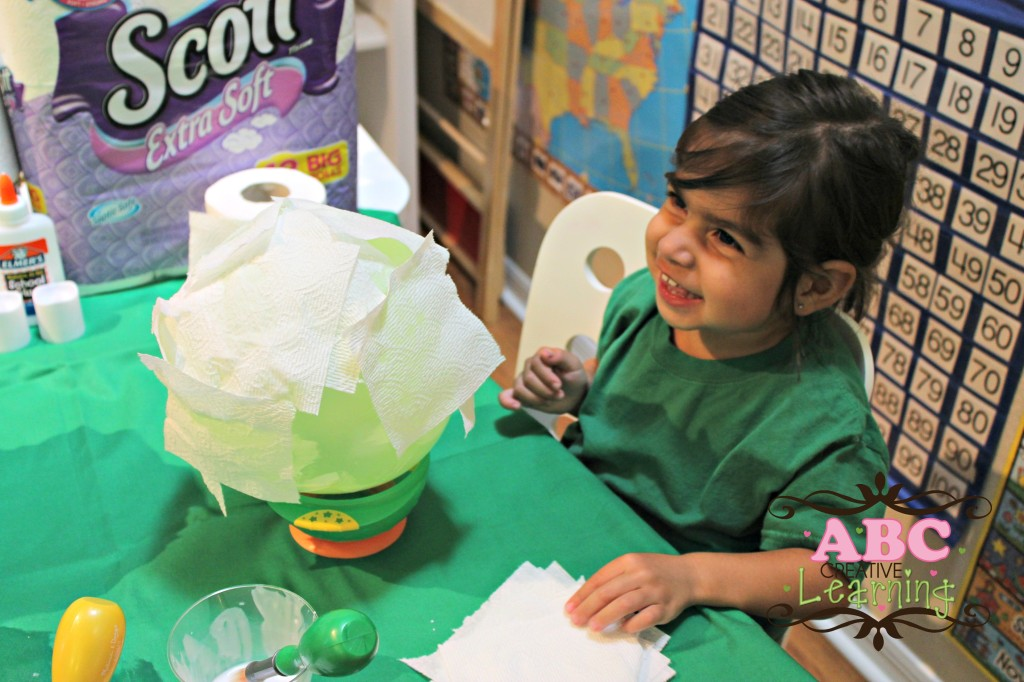 DIY LIght Up Moon with Scott Bath Tissue
