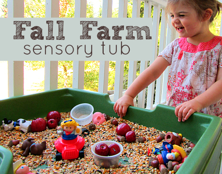 Fall-Farm-Sensory-Tub-
