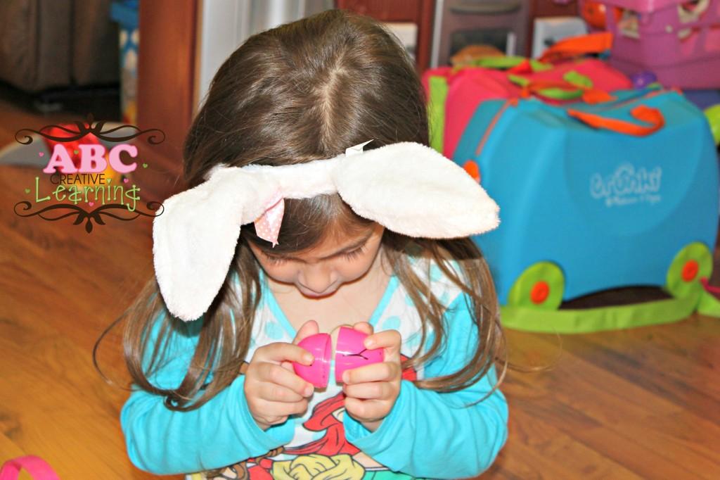 Matching Letter Eggs Fine Motor Skills