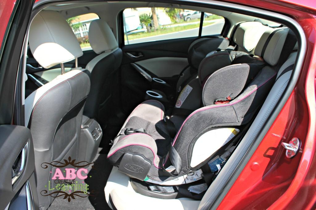 Mazda6 backseat interior