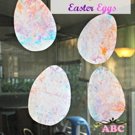 Shaving Cream Easter Egg Craft