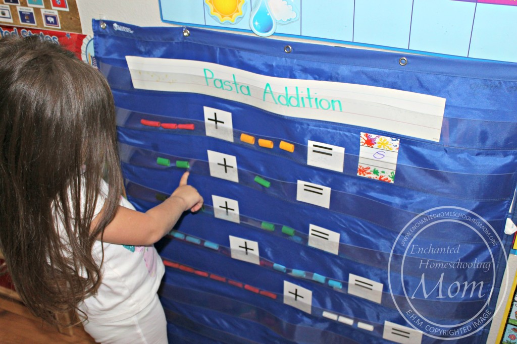 Using a Pocket Chart for Addition Activity