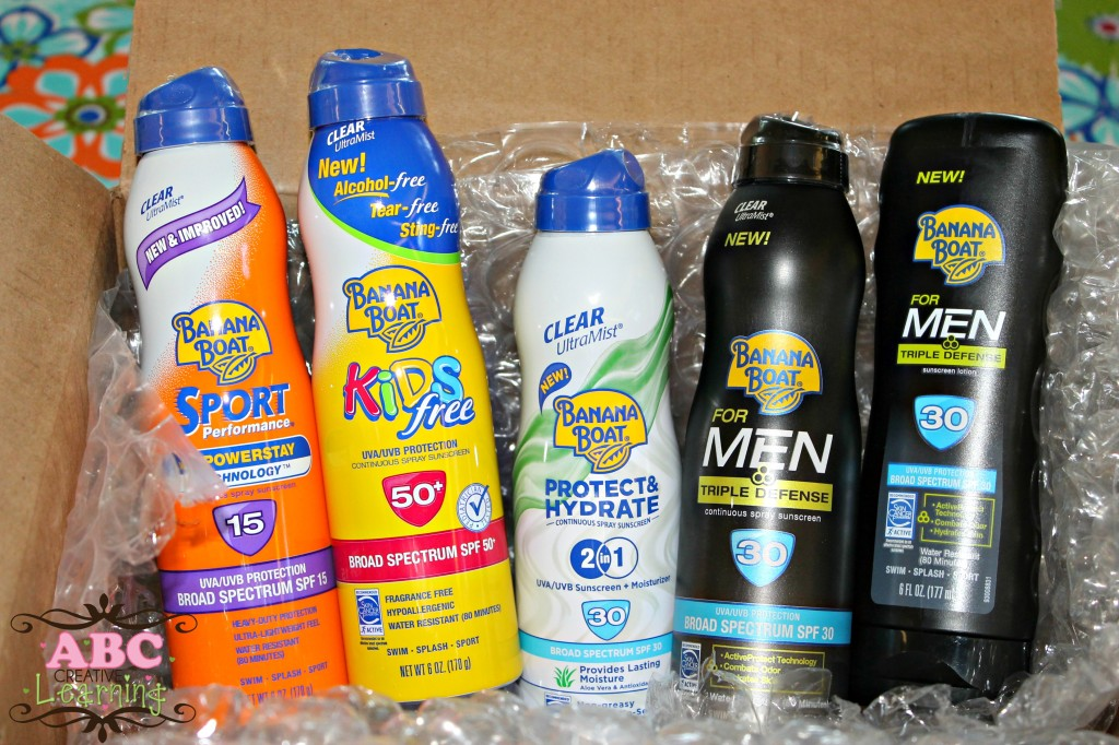 Banana Boat Ambassador Products