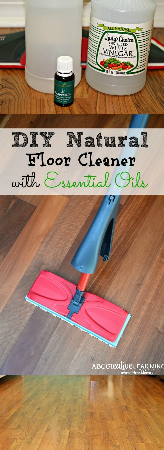Floor Cleaner Using Essential Oils
