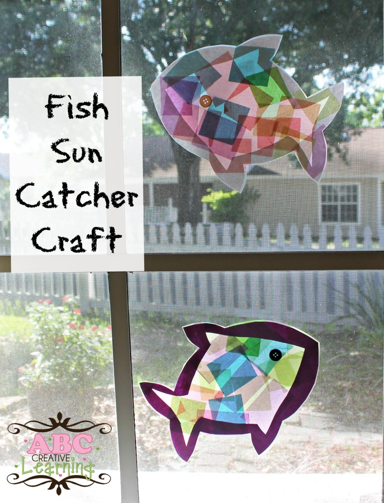 Fish Sun Catcher Craft