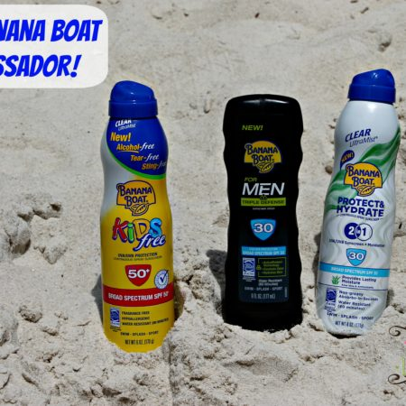 I'm a Banana Boat Ambassador #BBBestSummer #Sponsored #MC